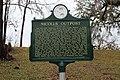 Nicolls Outpost historical marker, Chattahoochee, Florida.jpg