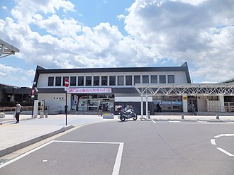 Nihonmatsu Station - Nihonmatsu Station in May 2013