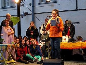 Nikky Finney -  Finney reading at Annikki Poetry Festival in Tampere, Finland on June 9, 2012