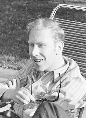 Niklaus Wirth - Niklaus Wirth, 1969, sitting on a spaghetti chair