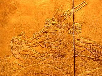 Palazzo di Nimrud. Bassorilievo