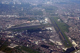 Ninoy Aquino International Airport Airport serving Metro Manila, Philippines