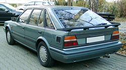 Nissan Bluebird rear 20071112.jpg