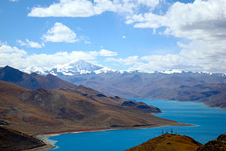 Noijin Kangsang the highest peak of Lhagoi Kangri mountain range in the Tibet Autonomous Region in China.