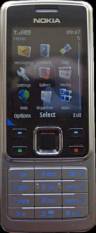 Series 40 - Series 40-based Nokia 6300