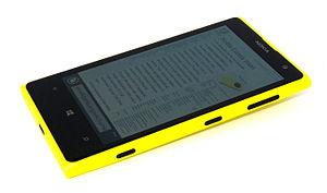 Nokia Lumia 1020 - Image: Nokia Lumia 1020 front