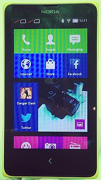 Nokia X, Nokias Android offering (12744749345).jpg