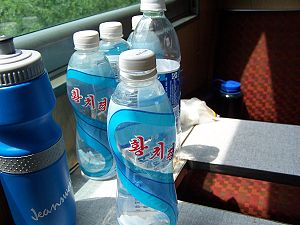 NorthKorean mineral water