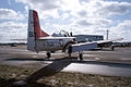 North American T-28B Trojan Navy RRear TICO 13March2010 (14412865620).jpg