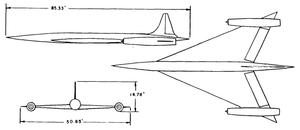 SSM-A-5 Boojum - The final design of the XSSM-A-5