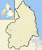 Northumberland outline map with UK (2009).png