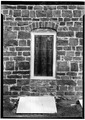 Northwest front, detail of window - Graeme Park, 859 County Line Road, Horsham, Montgomery County, PA HABS PA,46-HORM,1-3.tif