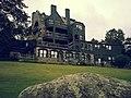 Norumbega Inn, Camden, Maine 09, Backside of home and grounds.jpg