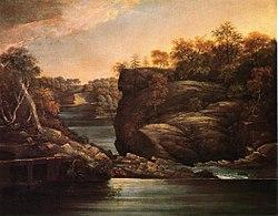 Norwich Falls John Trumbull c.1806