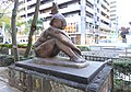 Nude with butterfly - Statues in Okayama City, Japan - DSC01449.JPG