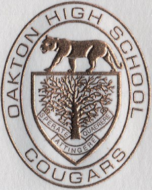 Oakton High School - Image: Oakton High Seal