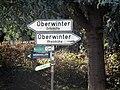 Oberwinter Am Friedrichsberg Hauptstraße Schilder.jpg