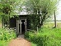 Observation shed at Rieselfelder Bird Sanctuary, Munster, Germany.jpg
