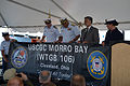 Official party unveils Coast Guard Cutter Morro Bay's new brow dodger 130619-G-VH840-053.jpg