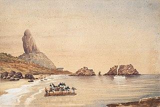 Oficiais no Mar, Destaque para o Morro do Pico