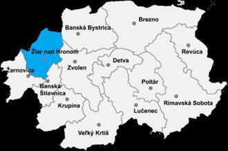Nevoľné - Žiar nad Hronom District in the Banská Bystrica Region of Slovakia