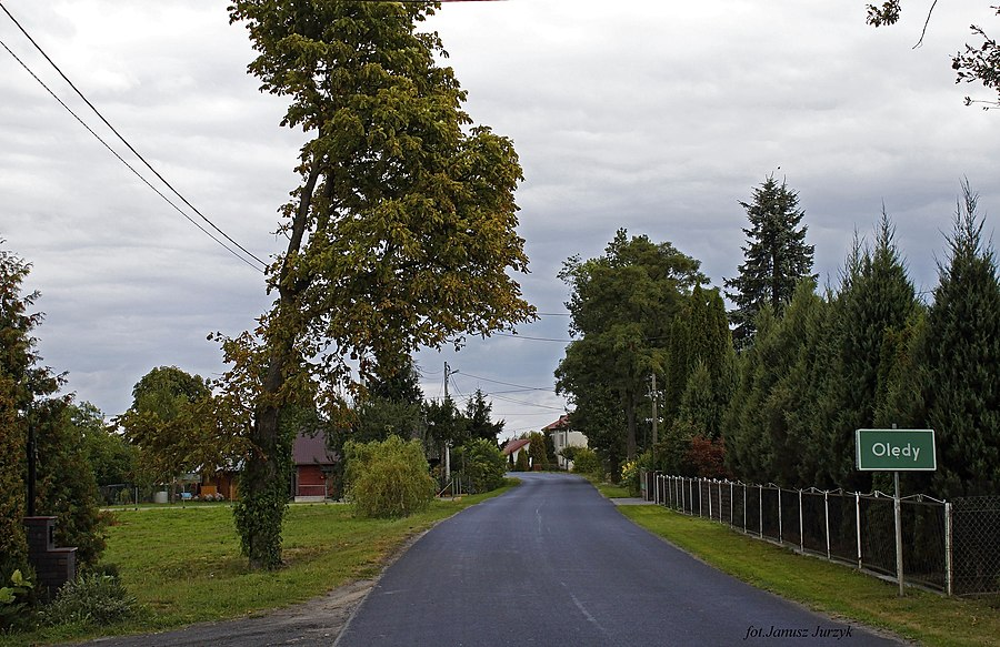 Olędy, Gmina Zbuczyn