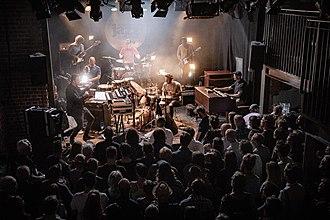 Kongsberg Jazzfestival - A concert at Energimølla during the 2018 festival.