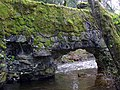 Old Dam with Hole Blown in it - Colquitz Creek - panoramio.jpg