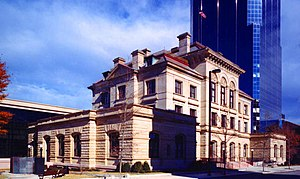 Old Post Office Building and Customhouse (Little Rock, Arkansas) - Old Post Office and Courthouse, June 2003