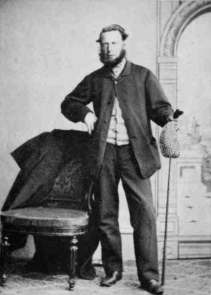 1861 Open Championship - Tom Morris, Sr. winner of the Challenge Belt in 1861