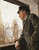 Ole Ring looks over Roskilde, by Laurits Andersen Ring.jpg