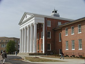 "Oxford, Mississippi - University of Mississippi, a.k.a. ""Ole Miss""."