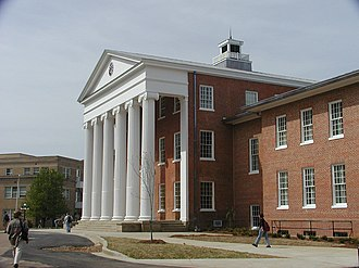 University of Mississippi - The Lyceum, William Nichols, architect (1848)