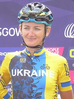 Olena Sharha Ukrainian cyclist