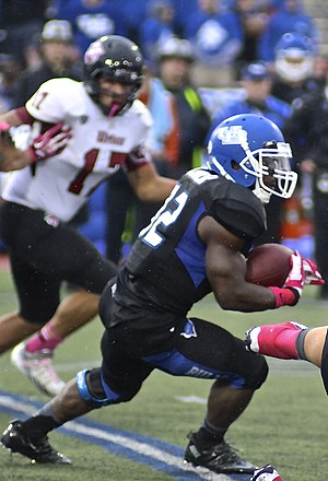 Buffalo Bulls football statistical leaders - Career leader in rushing yards, Branden Oliver