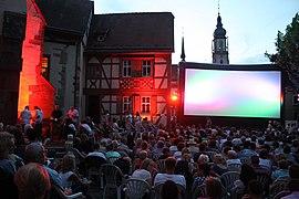 Open Air Kino Rathausmarkt