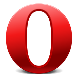 """O"" logo used by Opera Software as t..."