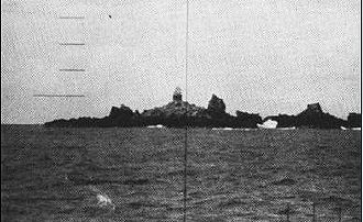 Saint Peter and Saint Paul Archipelago - Periscope eyeview from USS Triton (1960)