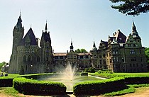 Opole Voivodeship Castle Moszna.jpg