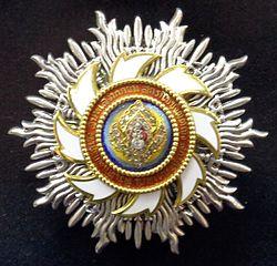 Order of the Royal House of Chakri star for ladies (Thailand 1950-1960) - Tallinn Museum of Orders.jpg