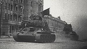 Operation Kutuzov - Image: Orel T34 by Moskovskaya Street 1943.2
