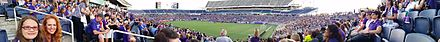 A NWSL record crowd of 23,403 at the Florida Citrus Bowl on April 23, 2016 of the franchise's first Home Game Orlando Pride Home Opener.jpg