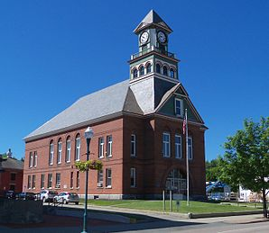 Orleans County Courthouse in Newport