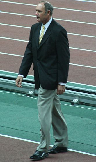 Alberto Juantorena - Juantorena at the 2007 World Championships in Athletics