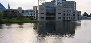 John G. Diefenbaker Building - The east of the building, facing the Rideau River