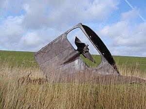 Otterndorf - The remains of SS Kaffraria
