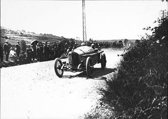 1914 French Grand Prix - Otto Salzer