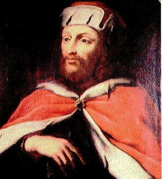 Otto I, Duke of Bavaria - Portrait from Die Chronik Bayerns