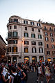 Our lodgings (top floor), Piazza di Spagna, Rome, Sept. 2011 - Flickr - PhillipC.jpg
