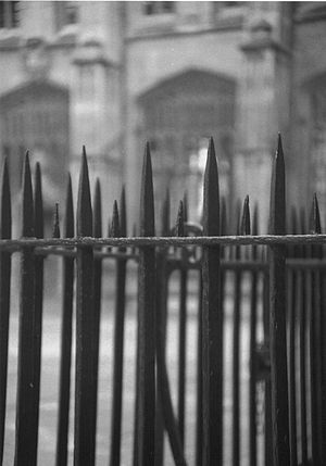 Oxford fence